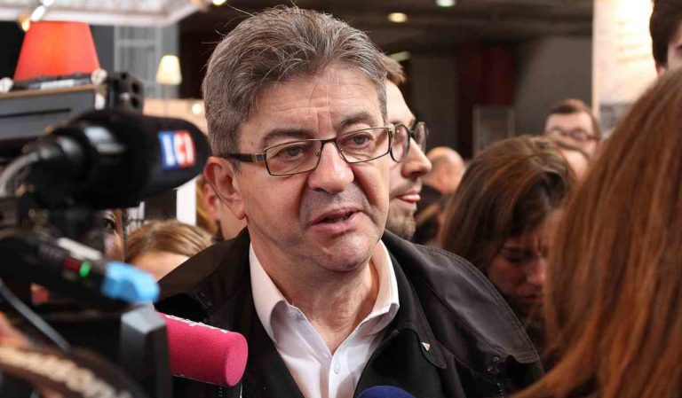 Jean-Luc Mélenchon en 2017 - Photo ActuaLitté - Creative Commons
