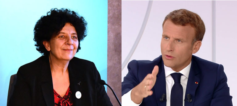 Frédérique Vidal - Photo Vilenath - Creative Commons - Emmanuel Macron - Capture Nos Lendemains.